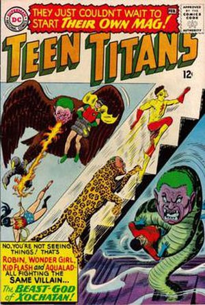 Teen Titans - Image: Teen titans 01 1966