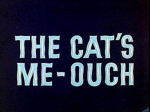 The Cat's Me-Ouch! - Title Card