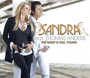 The Night Is Still Young (Sandra song) - Image: The Night Is Still Young Sandra and Thomas Anders