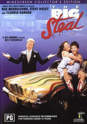 The Big Steal (1990 film) - DVD cover