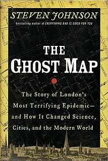 <i>The Ghost Map</i> book by Steven Johnson