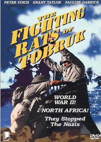 The Rats of Tobruk (1944 film) - Image: The Rats of Tobruk Video Cover