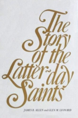 The Story of the Latter-day Saints - Dust jacket used on both printings of the first edition.