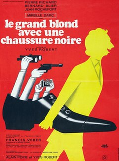 <i>The Tall Blond Man with One Black Shoe</i> 1972 film by Yves Robert
