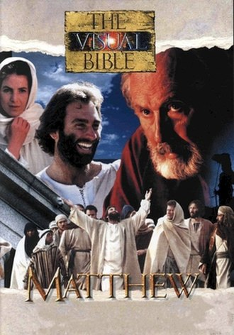 The Visual Bible: Matthew - The cover of the Mandarin version