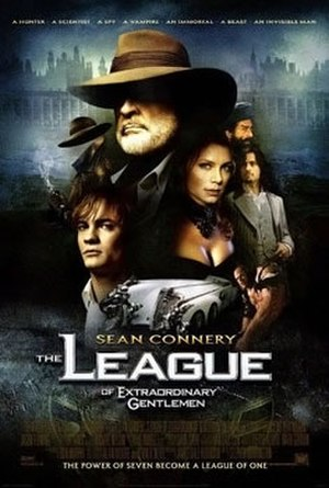 The League of Extraordinary Gentlemen (film) - Theatrical release poster