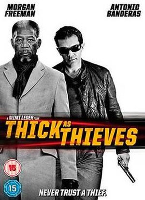 Thick as Thieves (2009 film) - DVD cover