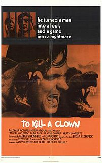 <i>To Kill a Clown</i> 1972 film by George Bloomfield