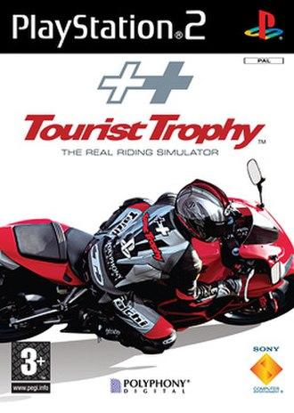 Tourist Trophy (video game) - European box art
