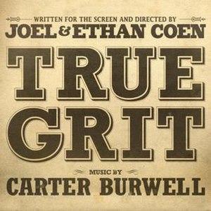 True Grit: Original Motion Picture Soundtrack - Image: True Grit 2010Soundtrack
