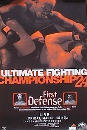 UFC 24 - Image: UFC24Event Poster