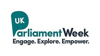 UK Parliament Week - Parliament Week logo