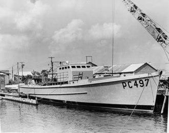 USS SC-497 - Image: USS SC 497