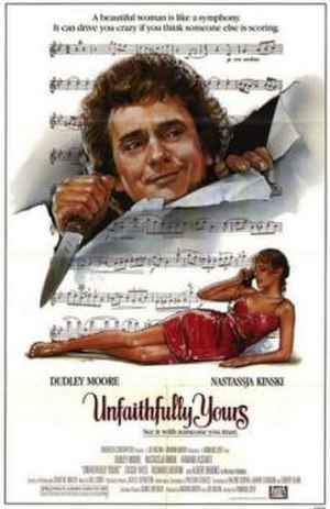 Unfaithfully Yours (1984 film) - theatrical poster