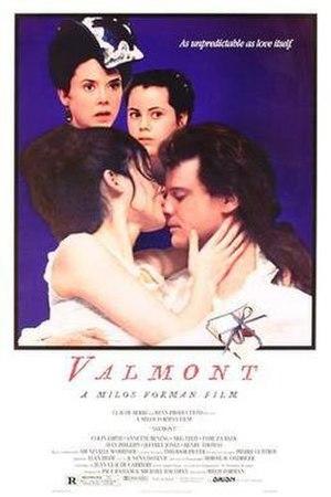 Valmont (film) - Image: Valmont film poster
