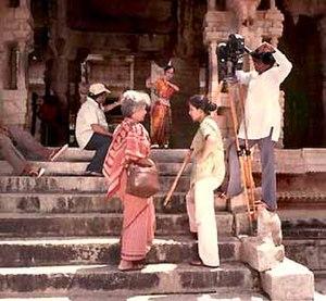 Vijaya Mulay - Vijaya Mulay on location – Hampi, Karnataka