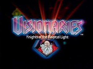Visionaries: Knights of the Magical Light - Visionaries title screen