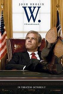 <i>W.</i> (film) 2008 film by Oliver Stone