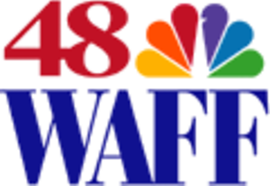 WAFF (TV) - Logo used until January 2014.