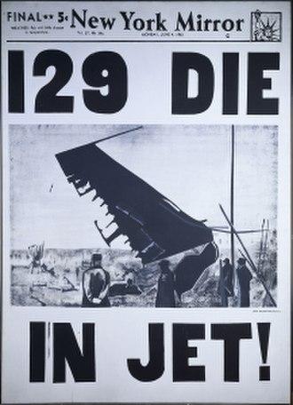 129 Die in Jet! - Image: Warhol 129 Die In Jet!