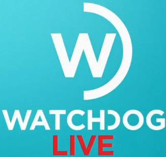"Watchdog (TV programme) - The title card used in 2017, featuring the addition of ""Live"", referring to episodes being broadcast live when aired."