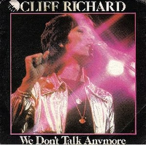 We Don't Talk Anymore (Cliff Richard song) - Image: We Don't Talk Anymore (Cover)