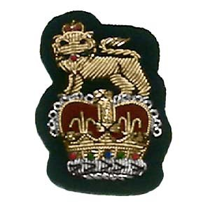 Westminster Dragoons - Westminster Dragoons officers' capbadge, pre-2006