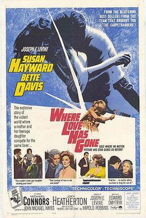 Where Love Has Gone (film) - Original film poster