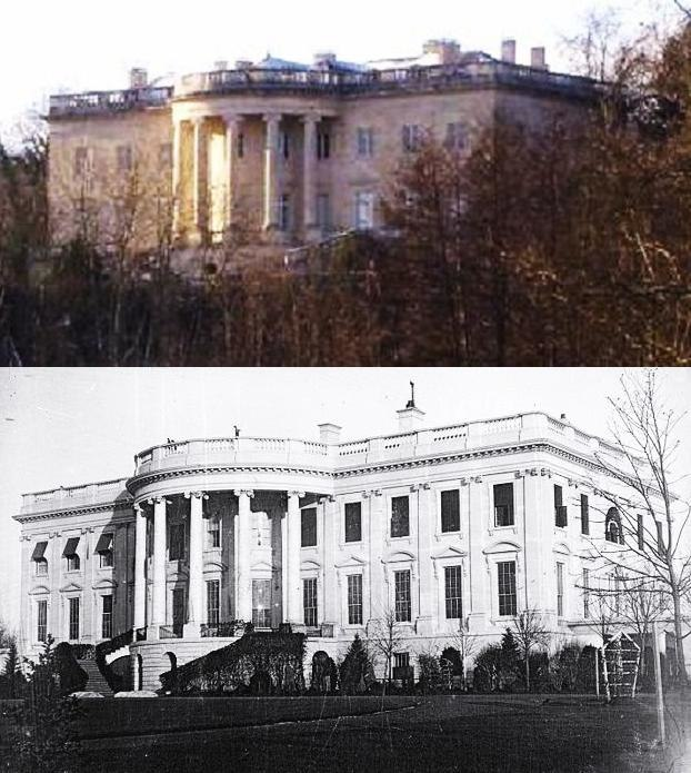 White House South Side Comparison
