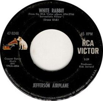 White Rabbit (song) - Image: White Rabbit label