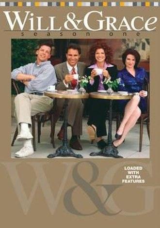 Will & Grace (season 1) - US DVD Cover