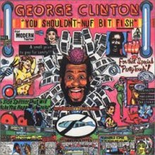 You Shouldn't-Nuf Bit Fish album cover by George Clinton.jpg