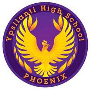 Ypsilanti High School - Current YHS logo