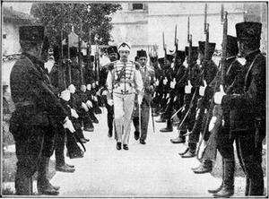 Royal Albanian Army - Royal Albanian Army with Zogu