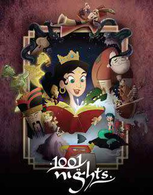 1001 Nights (TV series) - 1001 Nights's logo