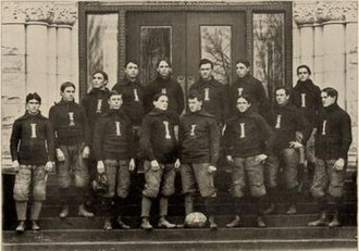 1897 Illinois Fighting Illini football team - Image: 1897 Illinois Fighting Illini football team