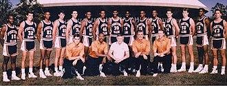 1988–89 Illinois Fighting Illini men's basketball team - Image: 1988 89 Illinois Fighting Illini men's basketball team