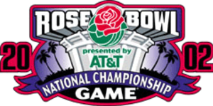 2002 Rose Bowl - Image: 2002 Rose Bowl logo