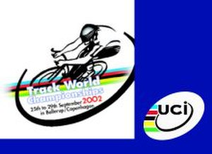 2002 UCI Track Cycling World Championships - Image: 2002 UCI Track Cycling World Championships logo