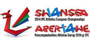 2014 IPC Athletics European Championships - Image: 2014 IPC Athletics European Championships logo