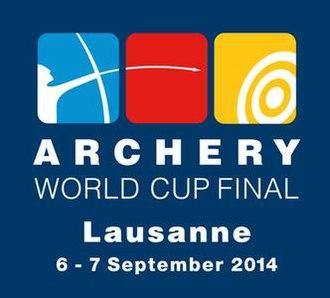 2014 Archery World Cup - Image: 2014 Lausanne Archery World Cup Final