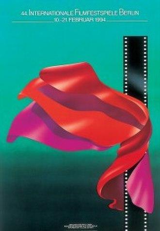 44th Berlin International Film Festival - Festival poster