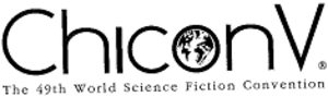 49th World Science Fiction Convention - Image: 49th Worldcon Chicon V 1991.logo