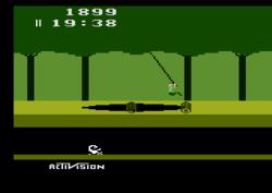jeu Pitfall sur Atari