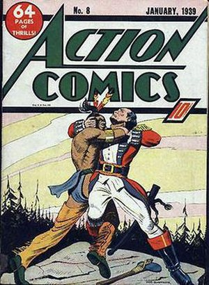 Fred Guardineer - Image: Action Comics 8