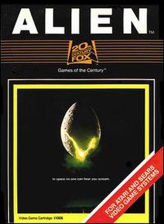 Alien (Atari 2600) - Image: Alien ataricover