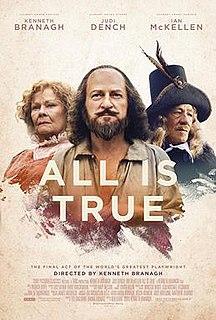 <i>All Is True</i> 2018 film by Kenneth Branagh