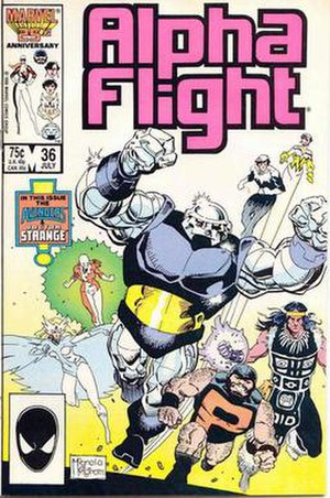 Box (comics) - Image: Alphaflightbox