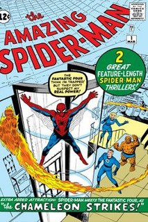<i>The Amazing Spider-Man</i> Comic book series