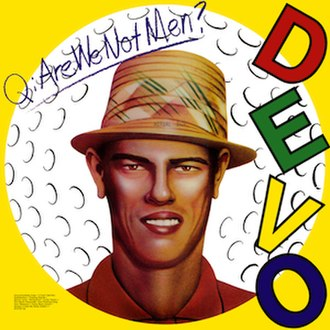Chi-Chi Rodríguez - The cover art for Q: Are We Not Men? A: We Are Devo!
